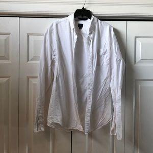 Large tall j crew dress shirt